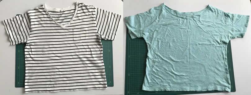 古いTシャツ