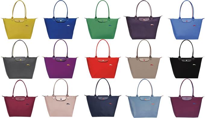 ロンシャン ル・プリアージュ・クラブに新色追加!8色から18色に!