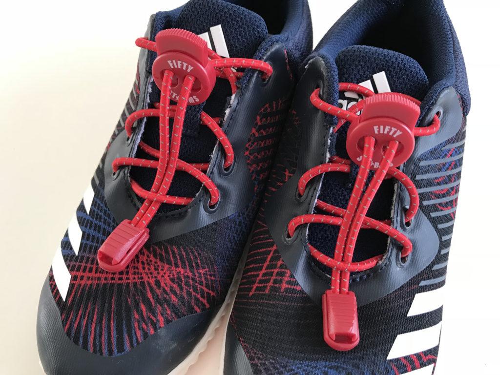 ほどけない靴紐