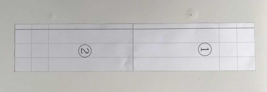 サブバック型紙