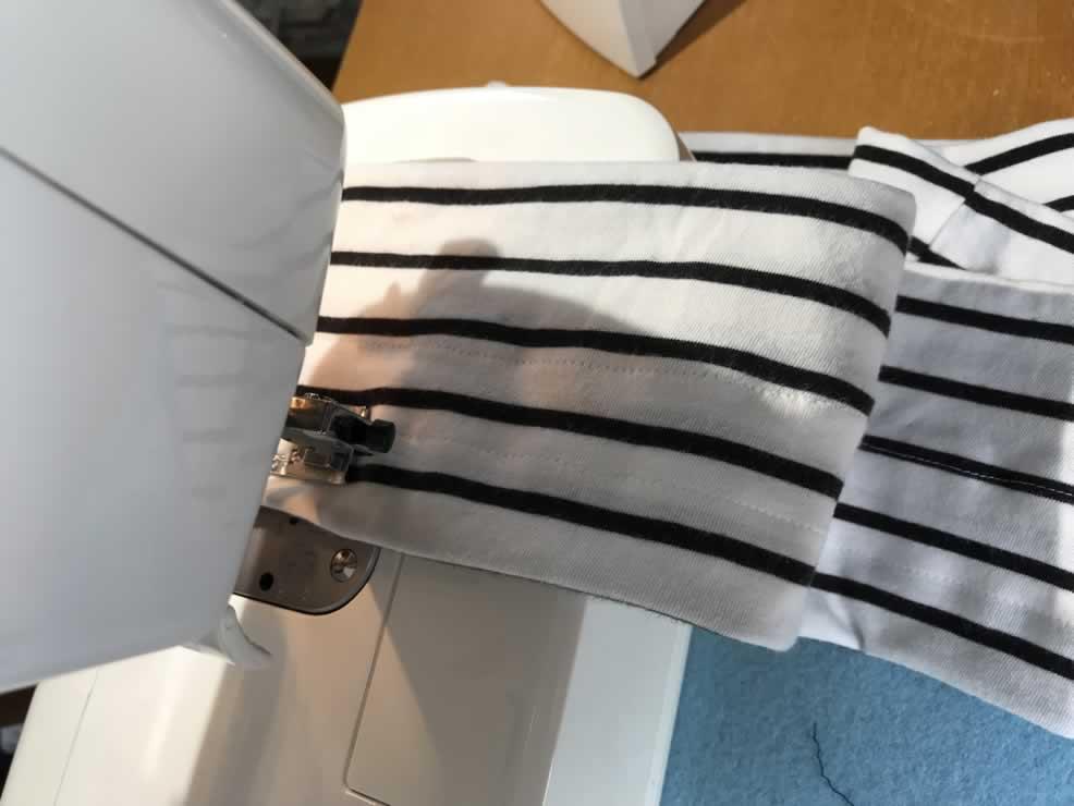 追加で2本縫う