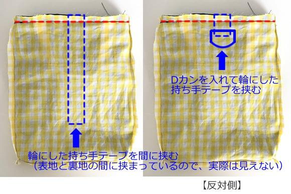 上履き袋の作り方6-2